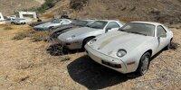 Trauriger Porsche-928-Friedhof in Kalifornien entdeckt