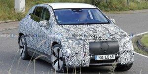 Mercedes EQE SUV auf ersten Erlkönigbildern