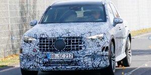 Mercedes-AMG GLC 63 (2023): Tests auf dem Nürburgring