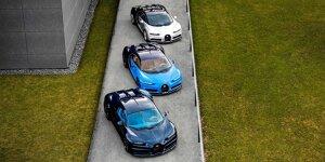 Rekord-Nachfrage läutet Ende der Bugatti Chiron Fertigung ein