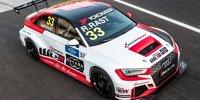Lackierung des WTCR-Audi von Rene Rast