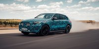 Mercedes-Benz EQC 2019 Erlkönig