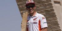 Kurve für Marc Marquez in Aragon