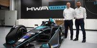 Präsentation Team HWA Racelab