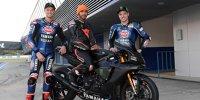 Lewis Hamilton testet Yamaha-Superbike