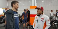 Hinter den Kulissen: Lorenzos 1. Honda-Arbeitstag
