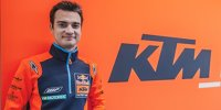 Dani Pedrosa erstmals in KTM-Farben