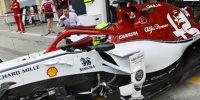 Testfahrten in Bahrain