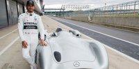Mercedes feiert 125 Jahre im Motorsport