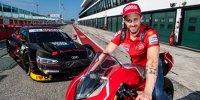 MotoGP-Ass Dovizioso testet DTM-Audi in Misano