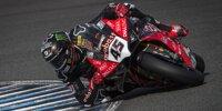 Superbike-Wintertest in Jerez