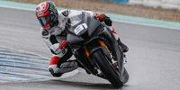 WSBK-Vorsaison-Test in Jerez