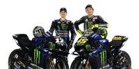 MotoGP 2020: Die neue Yamaha M1 von Valentino Rossi und Maverick Vinales