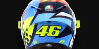 MotoGP-Wintertests: Valentino Rossis Helmdesign 2020