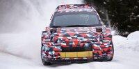 Testfahrten Toyota GR Yaris WRC '21