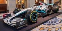 Die neue Formel-1-Lackierung von Mercedes