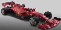 Formel-1-Autos 2020: Präsentation Ferrari SF1000
