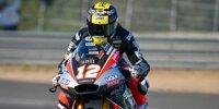 Moto2 und Moto3 testen in Jerez