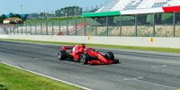 Ferrari-Testfahrten in Mugello