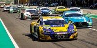 GT-Masters-Testfahrten Lausitzring