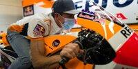 Marc Marquez besucht Barcelona-Fahrerlager