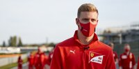 Ferrari-Juniorentest mit Mick Schumacher