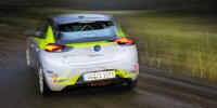 Fahrpräsentation Opel Corsa-e Rally
