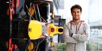 Sergio Perez: Erster Auftritt für Red Bull
