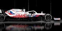 Formel 1 2021: Designpräsentation Haas