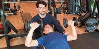 Marc Marquez trainiert für Comeback