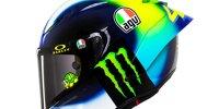 MotoGP 2021: Valentino Rossis neues Helmdesign