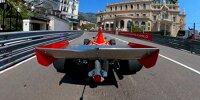 Grand Prix Monaco Historique 2021 - Jean Alesi fährt den Ferrari 312 B3 1974