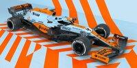 Gulf-Lackierung von McLaren für Monaco 2021
