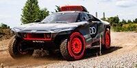 Testfahrten Audi RS Q e-tron