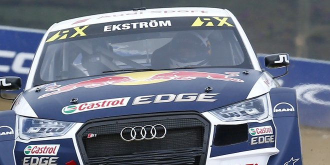 Mattias Ekström -  WRX-Gaststart in Spa