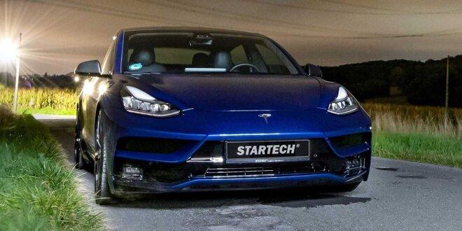 Der Brabus-Ableger möbelt das Elektroauto optisch auf - Tesla-Veredelung von Startech
