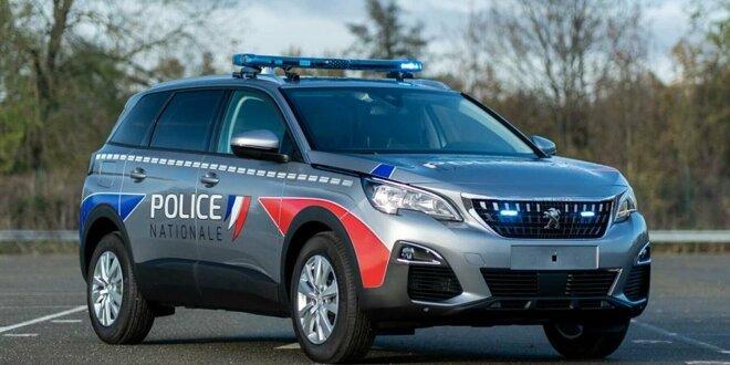 Französische Polizei fährt künftig Peugeot 5008 - Gendarmerie erhält Kompakt-SUV