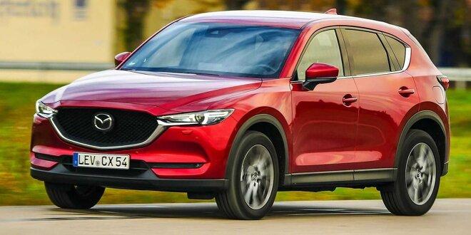 Mazda CX-5 (2022) soll Premium werden, 6-Zylinder kriegen - Plattform wie nächster Mazda6 ?
