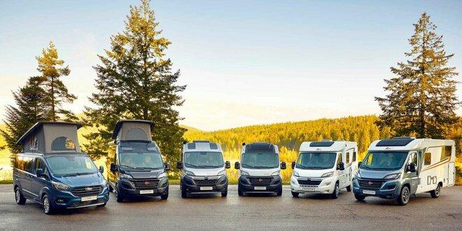 Mit Übersicht über alle sechs kompakte Camper von Bürstner -  Neue kompakte Campingfahrzeuge