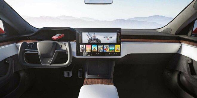"Tesla Model S (2021) -  Völlig neues Cockpit und ""Plaid+"""