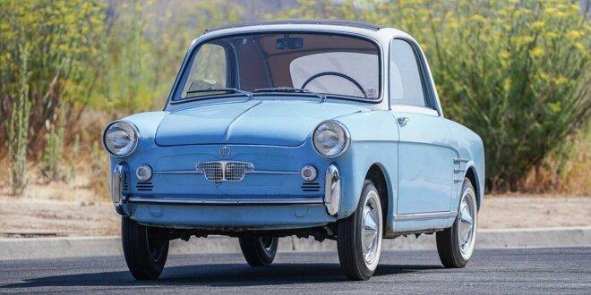 18.650 Dollar für Autobianchi Bianchina Trasformabile - Edler Bruder des Fiat 500