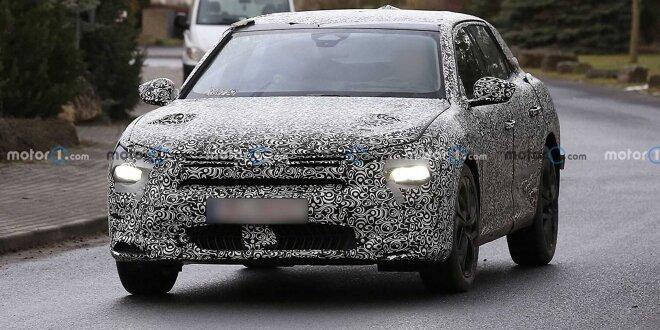 Citroën C5 (2021) mit ungewöhnlichem Design erwischt - Der Nachfolger von CX und C6?
