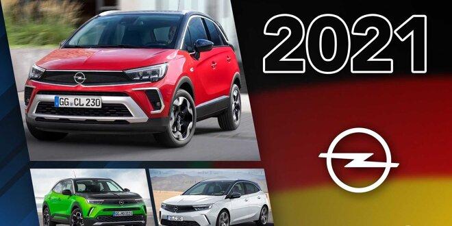 Es sind nicht viele, dafür aber wichtige neue Modelle - Opel-Neuheiten 2021 im Überblick