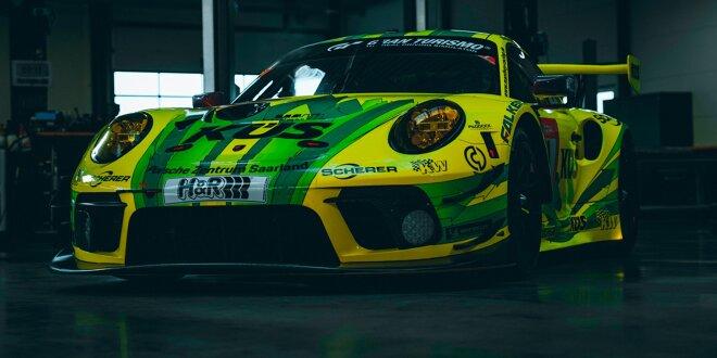 """Manthey-Porsche mit drei neuen Fahrern auf der Nordschleife - Kevin Estre kehrt in """"Grello"""" zurück"""