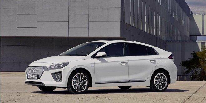 Anzeige: Hyundai Ioniq für Geschäftskunden -  Elektroauto-Leasing für 5 Euro