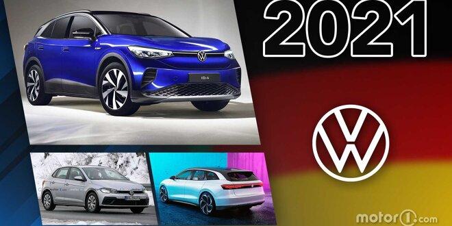 Neben Elektroautos kommt Polo-Facelift und T7 Multivan -  Die Neuheiten 2021 im Überblick