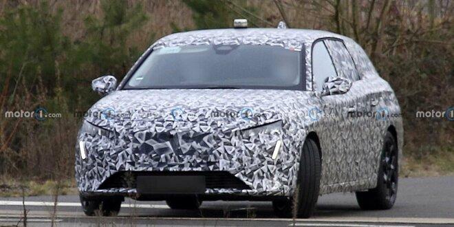Hier fährt der Bruder des nächsten Opel Astra - 308 SW als Erlkönig erwischt