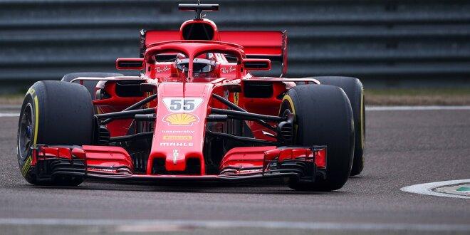 Ferrari-Pilot Sainz liefert keine Aufklärung - Unfall beim Reifentest in Jerez?