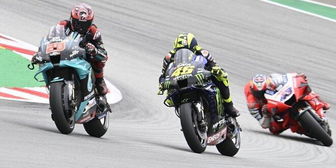 """Fabio Quartararo hält fest -  """"Stehle nicht den Platz von Rossi"""""""