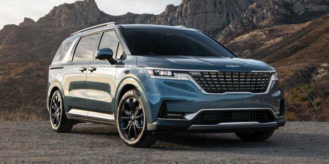 Der frühere Sedona bietet Platz für acht Personen - Großer Van mit SUV-Styling